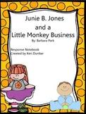 Junie B. Jones and a Little Monkey Business Response Notebook