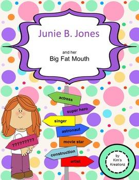 Junie B. Jones and her Big Fat Mouth Novel Study