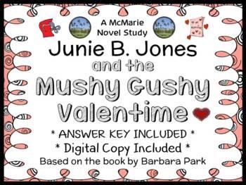 Junie B. Jones and the Mushy Gushy Valentime (Barbara Park) Novel Study