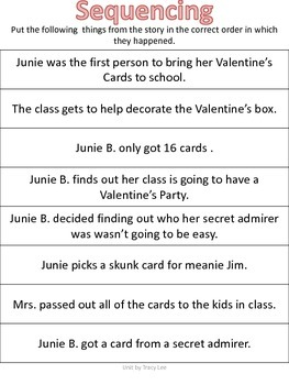 Junie B. Jones and the Mushy Gushy Valentine
