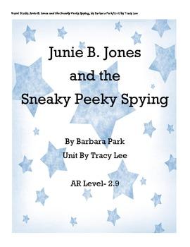 Junie B. Jones and the Sneaky Peeky Spying