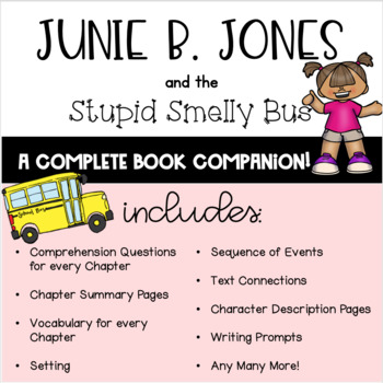Junie B. Jones and the Stupid Smelly Bus Book Companion