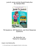 Junie B. Jones and the Stupid Smelly Bus Chapter Questions