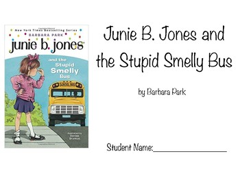 Junie B. Jones and the Stupid Smelly Bus (Novel Study Packet)