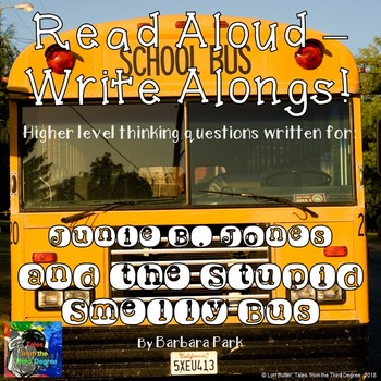 Junie B. Jones and the Stupid Smelly Bus Read Aloud Write Along Book Study