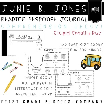 Junie B. Jones | School | Smelly Bus | Reading Comprehension | Book Companion