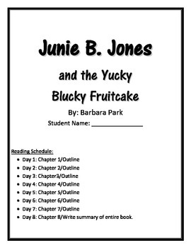 Junie B. Jones and the Yucky Blucky Fruitcake: Holiday Book Club