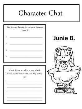 Junie B. Jones and the Yucky Blucky Fruitcake Response Notebook