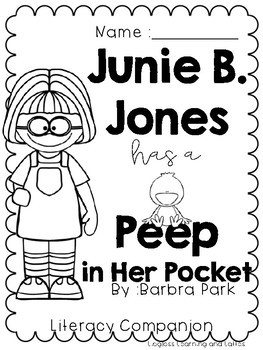 Junie B. Jones has a Peep in Her Pocket Literacy Companion