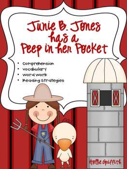 Junie B. Jones has a Peep in her Pocket: Comprehension Guide