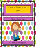 Junie B. Jones is NOT A CROOK - Discussion Cards