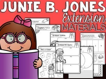 Junie B Jones is Not a Crook Comprehension Unit