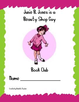 Junie B. Jones is a Beauty Shop Guy Book Club