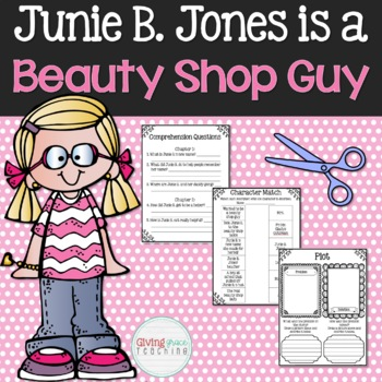 Junie B. Jones is a Beauty Shop Guy Book Club