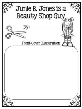 Junie B. Jones is a Beauty Shop Guy Book Club #ringin2019