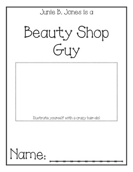 Junie B. Jones is a Beauty Shop Guy Comprehension Packet by Julie ...