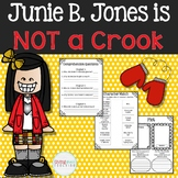 #LetFreedomRing Junie B. Jones is not a Crook Novel Study
