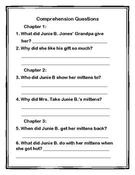 Junie B. Jones is not a Crook Book Club