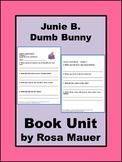 Junie B., First Grader: Dumb Bunny Easter Reading