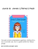 Junie B., Toothless Wonder Literacy Pack