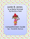 Junie B. is a Party Animal, comprehension guide