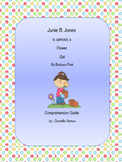 Junie B., is (almost) a flower girl comprehension reading