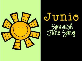 Junio Spanish June Song {Canción en español}