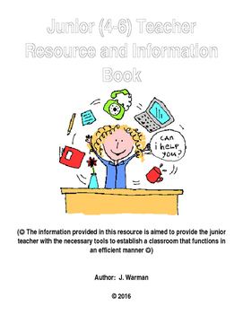 Junior (4-6) Resource and Information Book