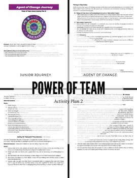 Junior | Agent of Change Journey | Complete Plan