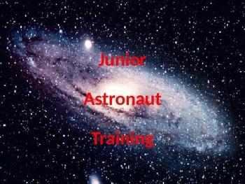Junior Astronaut Training - Galaxies Lesson
