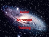 Junior Astronaut Training - Galaxies Lesson