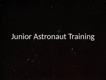 Junior Astronaut Training - Orbits Lesson