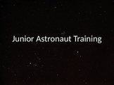 Junior Astronaut Training - Orbits Lesson