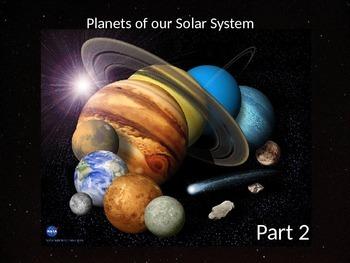 Junior Astronaut Training - The Solar System Part 2