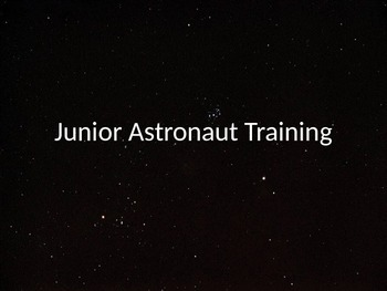 Junior Astronaut Training - The Solar System Parts 1 and 2