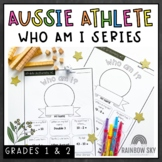 Commonwealth Games Maths Activity - Athlete Who am I Australia - Years 1-2