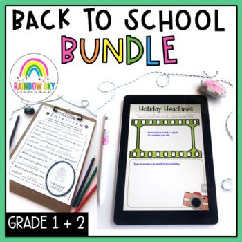 Back to School BUNDLE Years 1-2