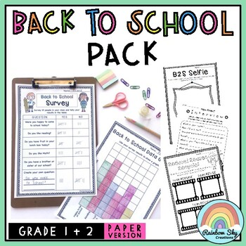 Aussie Junior Back to School Pack - K to 2 {NO PREP}