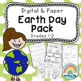 EARTH DAY Pack - Years 1 - 2 { PAPER & DIGITAL VERSION}