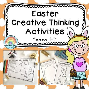 Junior Easter Creative Thinking Pack