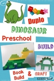 Junior Engineer,  Dinosaur Book Build, Learning with Duplo® Bricks