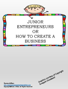 Junior Entrepreneurs or How to Create a Business