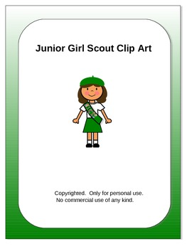 Junior Girl Scout Clip Art