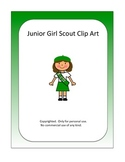 Junior Girl Scout Clipart