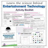 Junior Girl Scout Entertainment Technology Activity Booklet