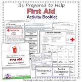Junior Girl Scout First Aid Activity Booklet