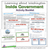 Junior Girl Scout  Inside Government Activity Booklet