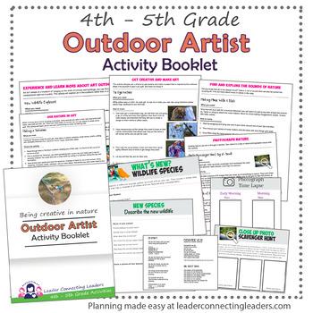 Junior Girl Scout Outdoor Explorer Activity booklet