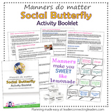 Junior Girl Scout Social Butterfly Activity Booklet