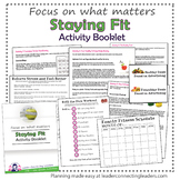 Junior Girl Scout Staying Fit Activity Booklet